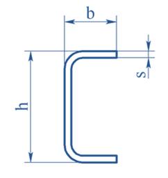 Швеллер гнутый равнополочный ГОСТ 8278-83