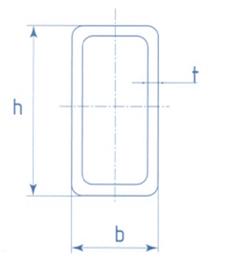Труба прямоугольная ГОСТ 8645-68