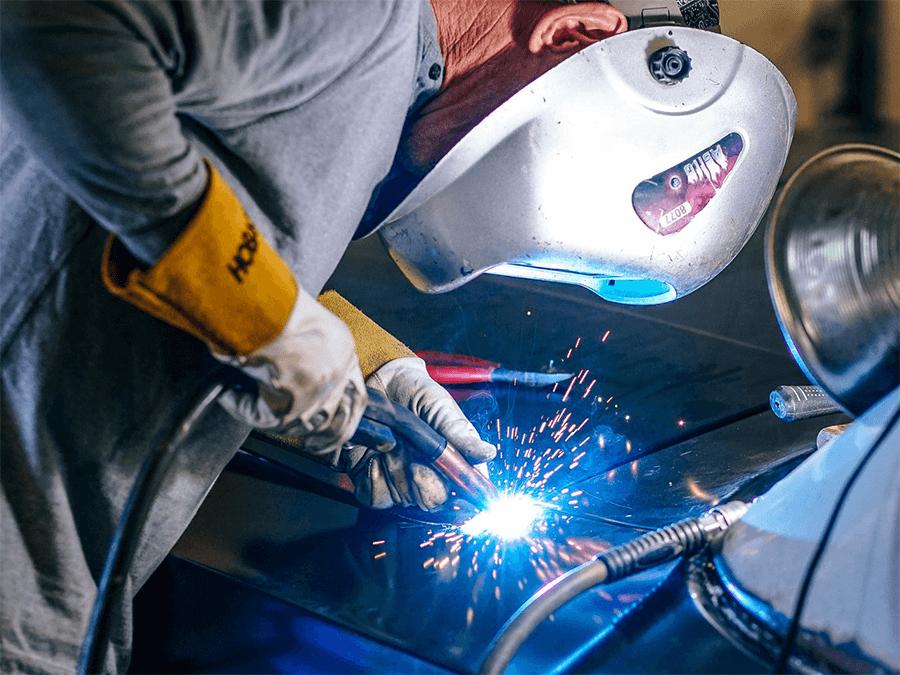 работа со сталью